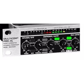 Compressor De Áudio Behringer Xl4600