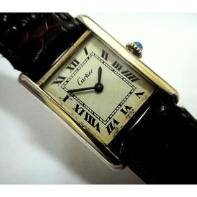 8f0d800c7a6 Relógio Cartier Paris Francezinho Original Prata