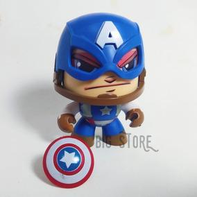 Boneco Funko Anime Capitão America Vingadores Gira Cabeca