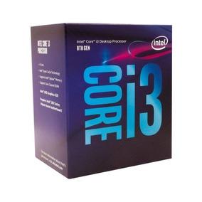 Processador Intel Core I3 8100