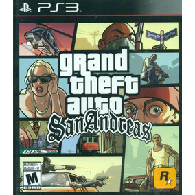 Grand Theft Auto: San Andreas Ps3 Mídia Física Lacrado