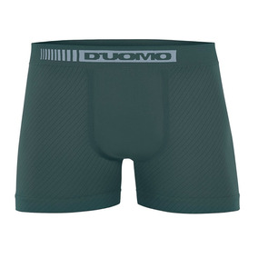 Cueca Boxer D uomo Microfibra Verde Militar Com Textura b7a7f9a5a363e