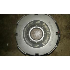 Sub Wofer 12 Power Acoutik Fx-10 Dual De 1600w 4 Ohm
