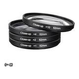 Macro Close Up Lente 52mm Nikon D3000 D3100 D3200 D5000