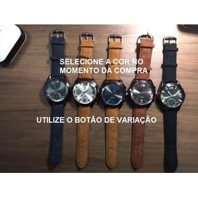 db52cfd8474f0 Relogio Timex Prata Fundo Azul Masculino Pulso - Relógios no Mercado ...