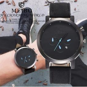Reloj 2019 Casual De Moda Casual Elegante Black And Blue