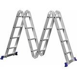 Escada Multifuncional Profissional Alumino Mor 4x4