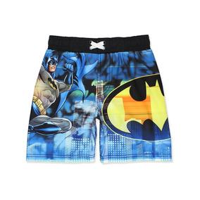 Short Para Nadar De Niño Batman Dc Comics