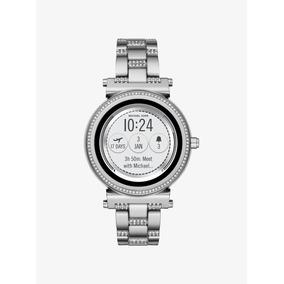 Reloj Smartwatch Michael Kors Access Sofie Plata Mkt5036