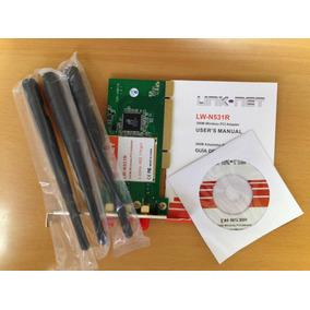 Tarjeta De Red Pci 300mbps Link Net Lw-n531r 3antena(tienda)