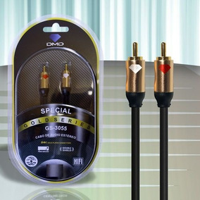 Cabo Áudio Estéreo Rca Diamond Cable Dmd Gs-3055 3m Duplo