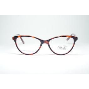 e7ec7f431d88d Armação Óculos P  Grau Feminino Acetato Redondinho Infantil