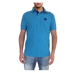86298df922 Camisa Polo Tamanho M Com Bordado Cavalo Saltando. São Paulo · Camisa Polo  Celeste Com Detalhe Azul Marinho Bordado Pata