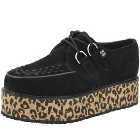 Zapatos Creepers Originales Marca Tuk Mujer - Zapatos en Mercado ... 35d50703976