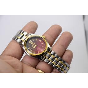 Relógio Fem. Pulso Prateado/mesclado Resistente Orimet Lindo