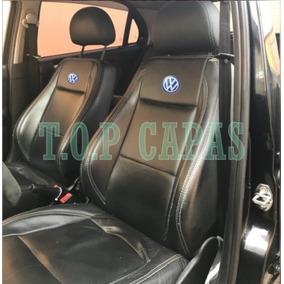 Capa Banco Carro 100% Em Couro Gol Voyage G2 G3 G4 G5 G6 G7