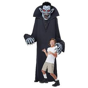 Disfraz Adulto Torre Vampiro Traje De Lujo Halloween 244 Cm