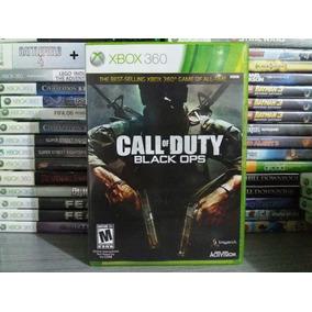 Jogo De Tiro Call Of Duty Black Ops Xbox 360 Original