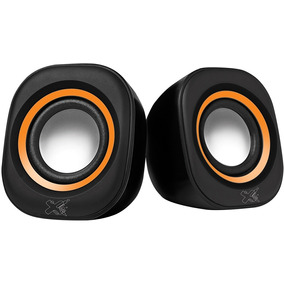 Caixa De Som Maxprint Sound Bar Usb 6013447 - Preto/laranja