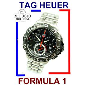 Tag Heuer Formula 1 Cronógrafo Aço-aço Moderno Cah1110 !
