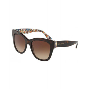 74fd806d60779 Orange Lente Dolce Gabbana Dg 3178 2765 52mm Havana Blue - Óculos no ...