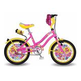 Bicicleta Disney Soy Luna Rodado 14 Para Nena + Envio *10