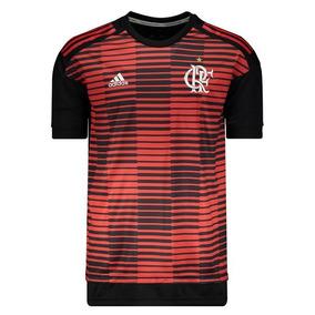 Camisa adidas Flamengo Pré Jogo 2018 8804fcf635a9d