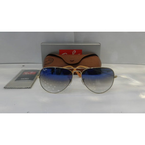 6fe7ed4b1 Ray Ban Aviador 3026 Preto Lente Degrade Cristalizada - Óculos De ...