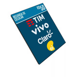 Recarga Celular Crédito Online Tim Claro Vivo Oi R$ 50,00
