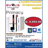 Promoción!!! Impresora De Carnet Pvc Térmica Evolis Primacy