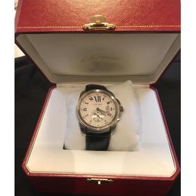 Relógio Cartier Calibre Original Automático Com Documentos