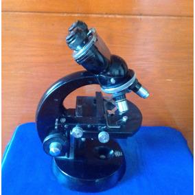 Microscopio Carl Zeiss Vintage