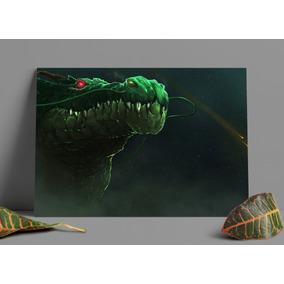Poster Dragon Ball Shenlong Papel Duro Impressão Fotográfica
