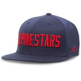 Bone Alpinestars Aba Reta Big Word Hat M Azul 5f8c74550bc