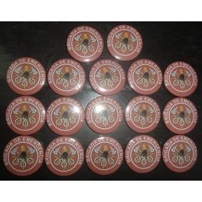 Botton/botons Brigada De Emergência - 17 Unidades - 4,5cm