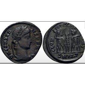 Moeda Antiga Nicomedia 337-350 Dc.