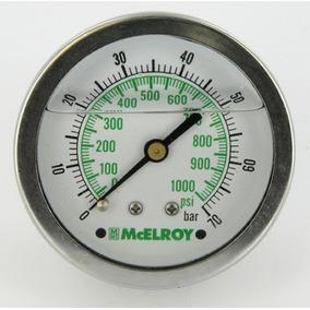 Manómetro De Trabajo Para Equipo Hidráulico Mcelroy