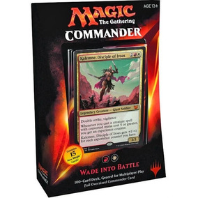 Deck Commander Wade Into Battle - Kalemne - Magic - Novo-ing