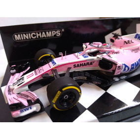 Sergio Checo Perez Sahara Force India Vjm11 2018 Minichamps bb38640ebce0c