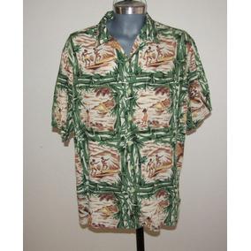 Polo Sport /ralph Lauren Camisa Hawaiiana Talla Xl