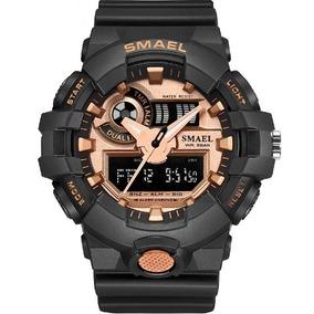 2325ecb0904 Relogio Militar Quartzo Led - Relógios De Pulso no Mercado Livre Brasil