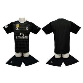 Real Madrid 2019 Jersey Con Short Portero Personalizado cd33ca02587d7