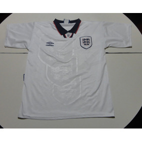 Camiseta De Inglaterra Blanca Marca Umbro Años
