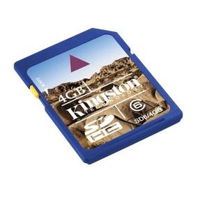 Memoria Sd Hc 4gb Clase 6 Memoria Flash Kingston