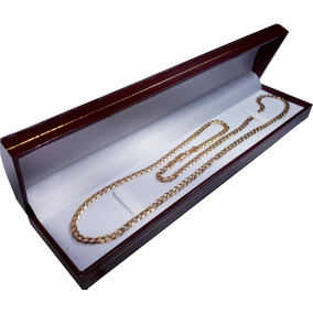Cadena Barbada De Oro Macizo 14k 60cm. Pesa 35grs Solid Gold