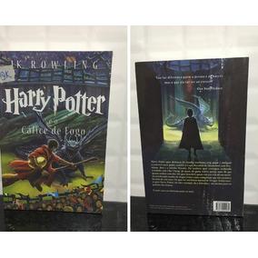 Livro Harry Potter E O Calice De Fogo