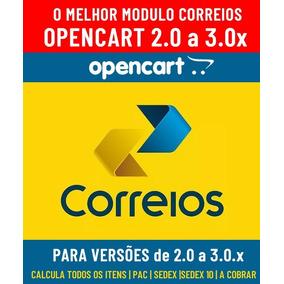 Módulo Dos Correios Para Opencart Versão 2.0 Até 3.0.x