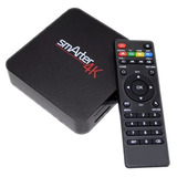 Smart Tv Box Smarter 4k 8gb Android 7.1 Hdmi Usb Smart 4k
