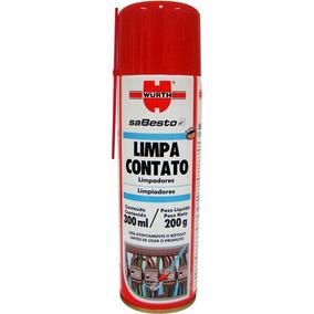 Kit 5 Limpa Contatos Spray 300 Ml / 200 G - Wurth 389565 300