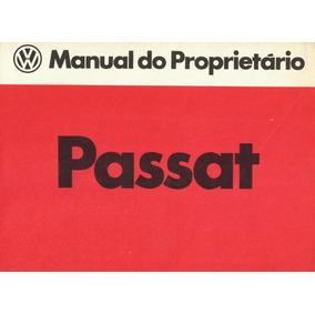 Manual De Instruções - Passat 1981 - Loja Oficial Volkswagen